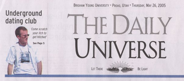 daily universe front page